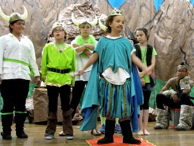 King Fancy Pants in ArtReach's Reluctant Dragon Play