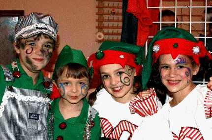 Twas the Night Before Christmas -- Christmas Musical Play for Kids to perform!