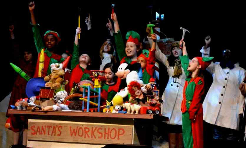 Twas the Night Before Christmas Kids Musical Play