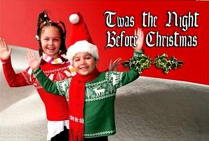 Christmas Musical for Kids to Perform!  Twas the Night Before Christmas!