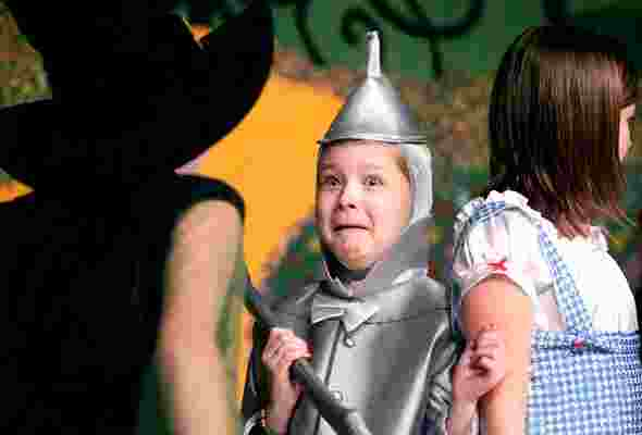 Great Parts for Young Kids!  The Wizard of Oz!