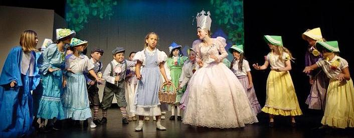 Great Play Script for a Large Cast of Young People!  The Wizard of Oz!